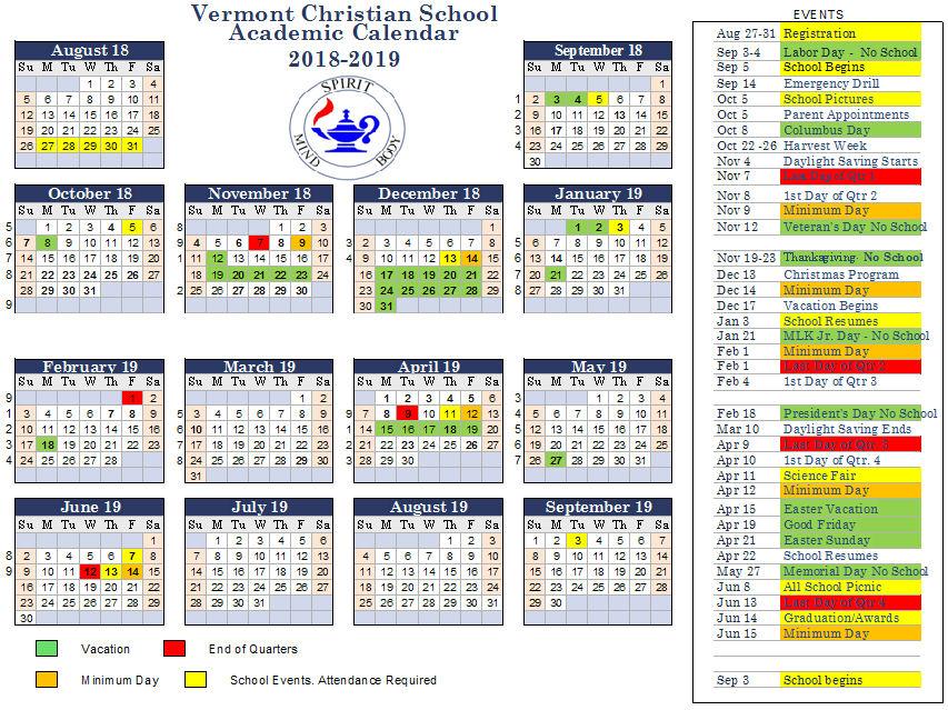 Calendar18 19